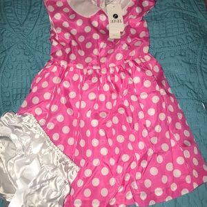 NWT Beautiful 2pc girls dress 👗 size 5